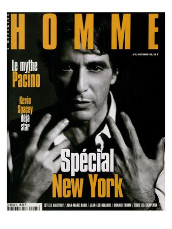 L'Optimum, October 1996 - Al Pacino Posters by Sante D'orazio
