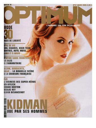 L'Optimum, March 2003 - Nicole Kidman Posters by Albert Sanchez