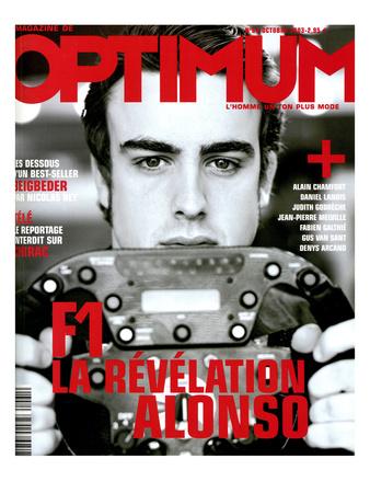 L'Optimum, October 2003 - Fernando Alonso Prints by Andrea Klarin