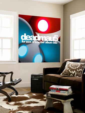 deadmau5 - for lack of a better album title Giant Art Print