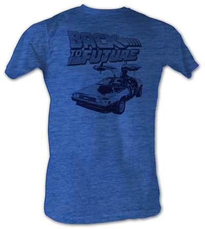 Back To The Future - Halftone T-Shirt