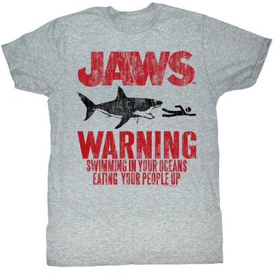 Jaws - Warning T-Shirt