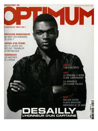 L'Optimum, June-July 2002 - Marcel Desailly Prints by Jan Welters