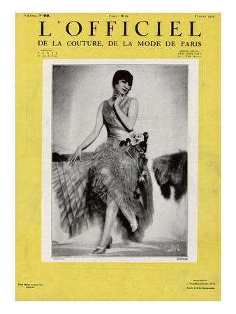 L'Officiel, February 1927 - Redfern Print by  Madame D'Ora