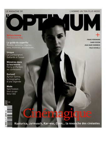 L'Optimum, April-May 2004 - Monica Bellucci Láminas por Jan Welters