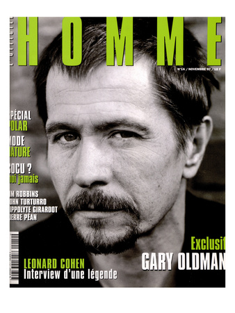 L'Optimum, November 1997 - Gary Oldman Posters by Marcel Hartmann