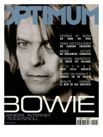 L'Optimum, October 1999 - David Bowie Posters by Frank W. Ockenfels