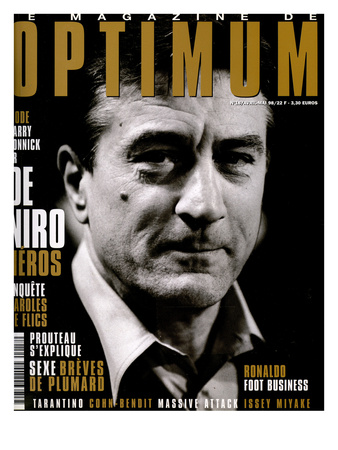L'Optimum, April-May 1998 - Robert de Niro Art by Marcel Hartmann