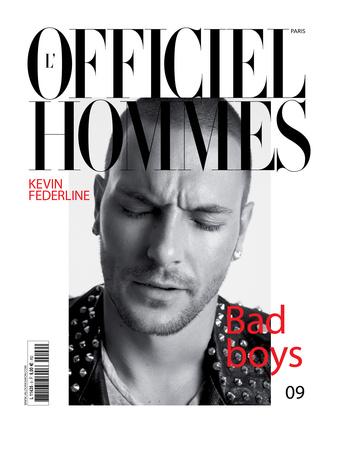 L'Officiel, Hommes August 2007 - Kevin Federline Art by Milan Vukmirovic