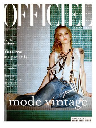 L'Officiel, 2004 - Vanessa Paradis Posters by John Nollet