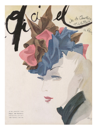 L'Officiel, January 1942 Posters by  Lbenigni