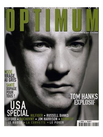 L'Optimum, October 1998 - Tom Hanks Poster by Franck Courtes