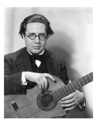 Andres Segovia (1893-1987) Premium Giclee Print by Nickolas Muray