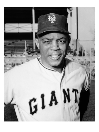 Willie Mays (1931-) Giclee Print