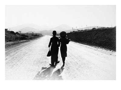 Chaplin: Modern Times, 1936 Giclée-tryk
