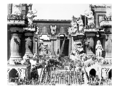 Griffith: Intolerance 1916 Giclee Print