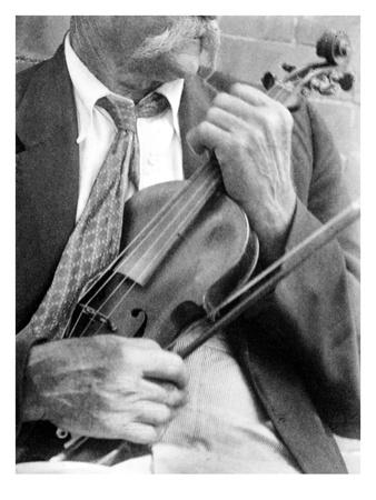 Fiddler, c1930 Premium Giclee Print by Doris Ulmann