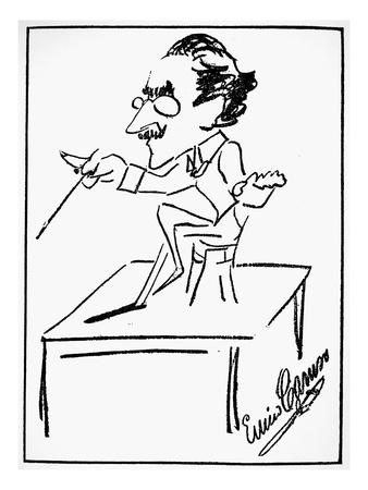 Arturo Toscanini (1867-1957) Premium Giclee Print by Enrico Caruso
