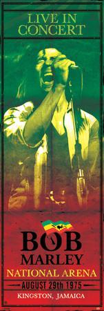 Bob Marley-Concert Affischer