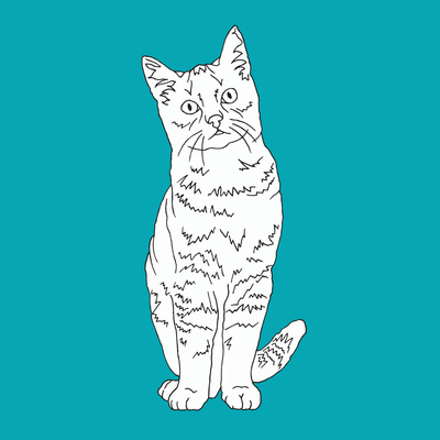 Cat Prints by Anna Nyberg