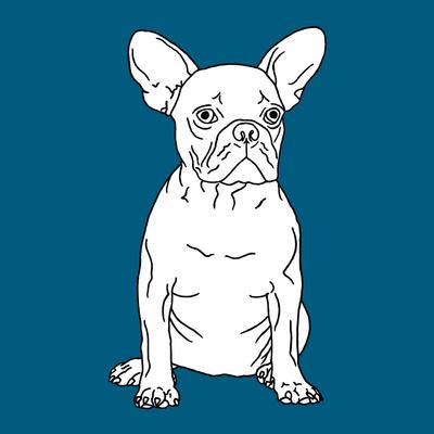 French Bulldog Prints by Anna Nyberg