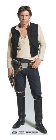 Han Solo Figura de cartón