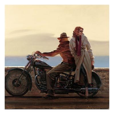 Coastal Ride Prints by Brent Lynch