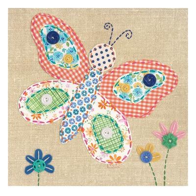 Patchwork Butterfly Lámina giclée por Paula Joerling en AllPosters