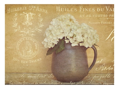 Heirloom Bouquet 2 Poster by Cristin Atria