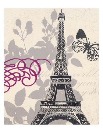 World Tour Butterfly Prints by  Z Studio