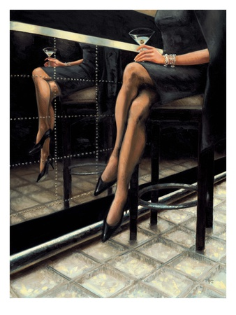 Martini with a Twist Prints by Nathan Rohlander
