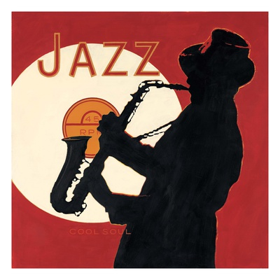Cool Soul Jazz Posters by Marco Fabiano