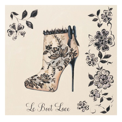 Le Boot Lace Prints by Marco Fabiano