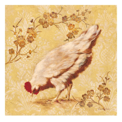 Estate Hen Art by Laurel Lehman