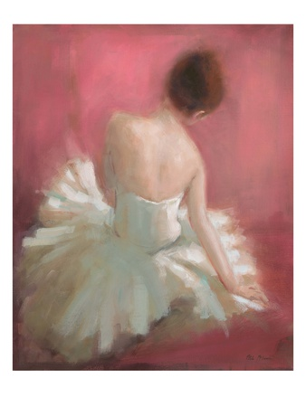Ballerina Dreaming 1 Print by Patrick Mcgannon