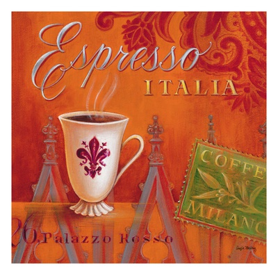 Espresso Italia Posters by Angela Staehling