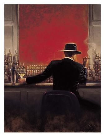 Cigar Bar Prints by Brent Lynch