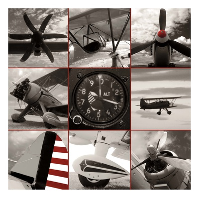 Aircraft Montage Posters by Matt McCarthy