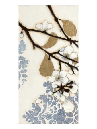 Damask Cherry Blossoms 1 Print by Norman Wyatt Jr.
