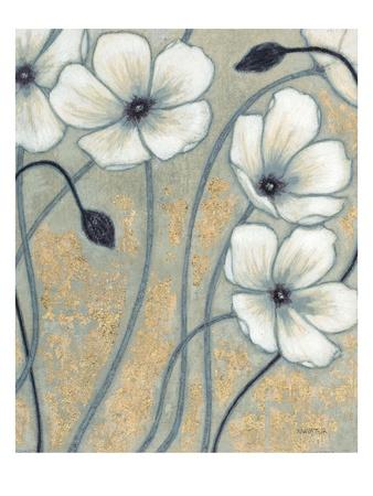Wind Tossed Blooms 1 Poster by Norman Wyatt Jr.