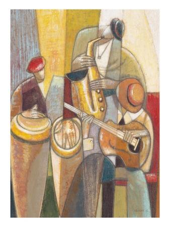 Cultural Trio 1 Poster by Norman Wyatt Jr.