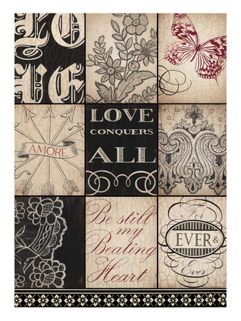 Vintage Love Prints by Marco Fabiano