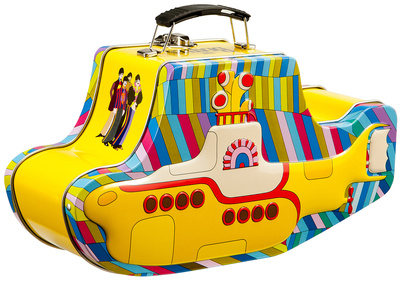 Yellow Submarine detailed lunch box