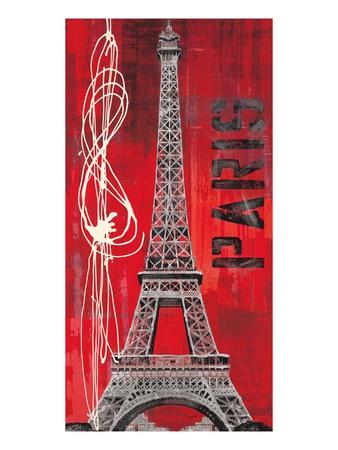 Paris Vibe Art by Evangeline Taylor