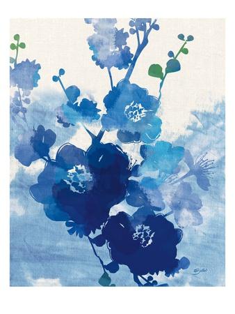 Stream of Blues 1 Art by Bella Dos Santos