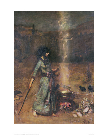 The Magic Circle Posters by John William Waterhouse