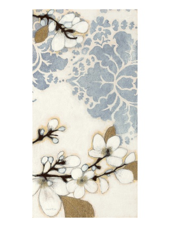 Damask Cherry Blossoms 3 Posters by Norman Wyatt Jr.