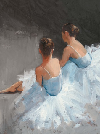 Dancers at Rest Art by Patrick Mcgannon