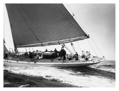 Yankee Cruising on East Coast, 1936 Poster by Edwin Levick