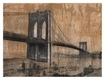 Brooklyn Bridge 2 Prints by Dario Moschetta